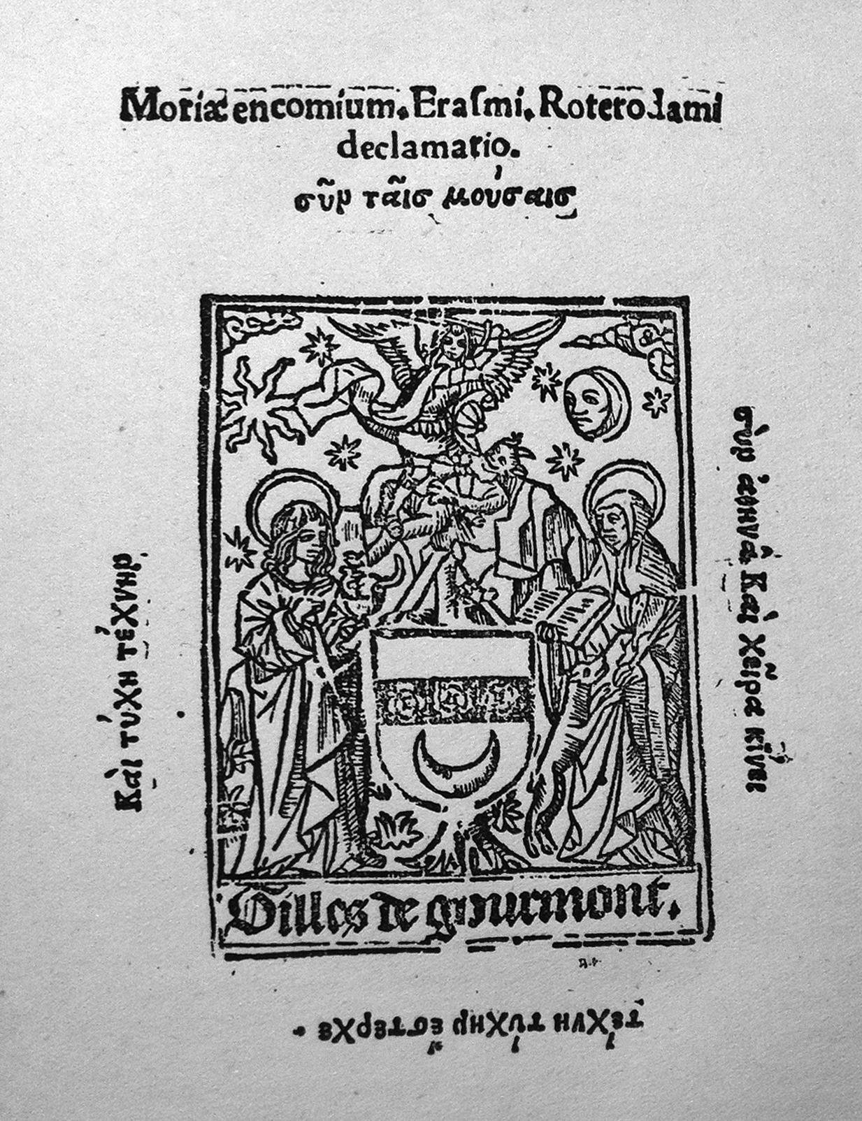 Citaten Uit Lof Der Zotheid : Erasmus lof der zotheid j b kan
