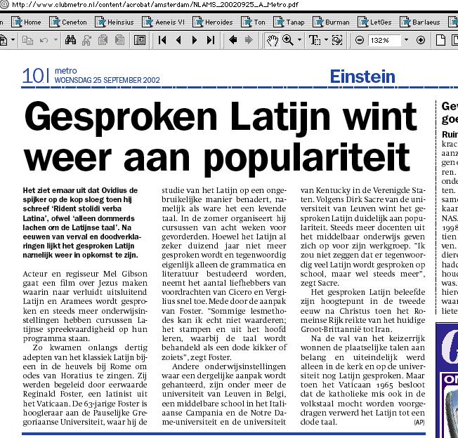 vertalen nederlands latijns